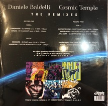 Daniele Baldelli - Cosmic Temple - The Remixes [2LP]