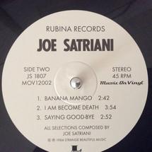 Joe Satriani - Joe Satriani EP (RSD) [LP]