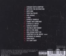 N.W.A. - The Best Of N.W.A - The Strength Of Street Knowledge [CD]