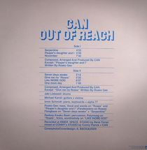 Can - Out Of Reach  [LP]