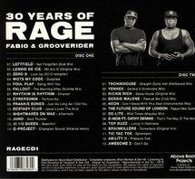 Fabio / Grooverider - 30 Years Of Rage