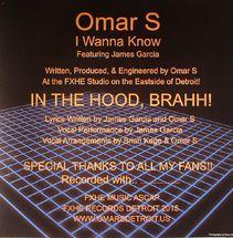 "Omar S - I Wanna Know [12""]"