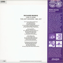 Richard Marks - Love Is Gone (Lost Sessions 1969-77) [LP]