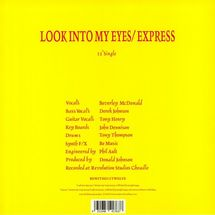 "52nd Street - Look Into Your Eyes / Express (2020 Reissue) [12""]"