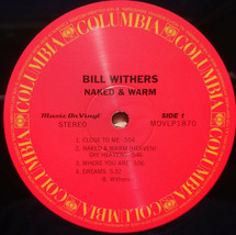 Bill Withers - Naked & Warm  [LP]