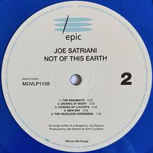 Joe Satriani - Not Of This Earth [LP]