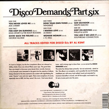 Al Kent - Disco Demands Part Six [3LP]