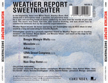 Weather Report - Sweetnighter [CD]