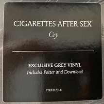 Cigarettes After Sex - Cry [LP]