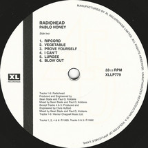 Radiohead - Pablo Honey [LP]