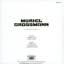 Muriel Grossmann - Elevation (LP+MP3)