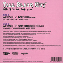 Tall Black Guy - We Rollin