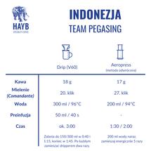 Kawa ziarnista - Indonezja Team Pegasing [szt.]
