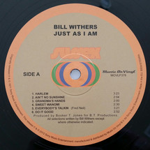 Bill Withers - Just As I Am [LP]