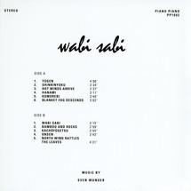 Sven Wunder - Wabi Sabi [LP]