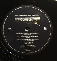 The Streets - None Of Us Are Getting Out Of This Life Alive [LP]