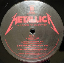 Metallica - Master Of Puppets [LP]
