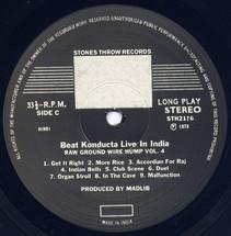 Madlib - Beat Konducta Vol. 4: Beat Konducta in India [LP]