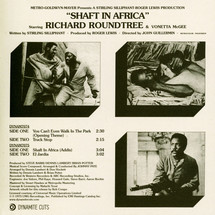 """Johnny Pate - Shaft In Africa [2x7""""]"""