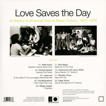 VA - Love Saves The Day: History Of Dance Music 1970-1979 Part 2