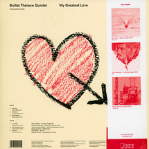 Boillat Therace Quintet - My Greatest Love [LP]