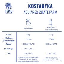 Kawa ziarnista - Kostaryka Aquiares Estate Farm [szt.]