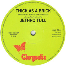 Jethro Tull - Thick As A Brick (The Steven Wilson Stereo Remix) [LP]