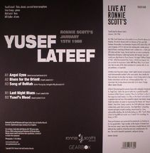 Yusef Lateef - Live At Ronnie Scott's [LP]
