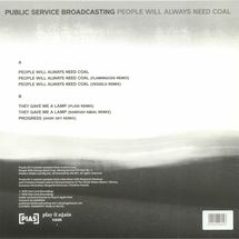 """Public Service Broadcasting - People Will Always Need Coal EP [12""""]"""
