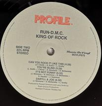 Run DMC - King Of Rock [LP]