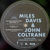 Miles Davis - The Final Tour: Copenhagen, March 24, 1960 [LP]