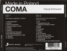 Coma - Pierwsze Wyjście Z Mroku / Zaprzepaszczone Siły Wielkiej Armii Świętych Znaków