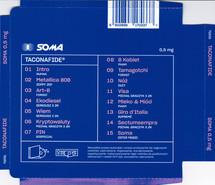 Taconafide - Soma 0,5mg [CD]