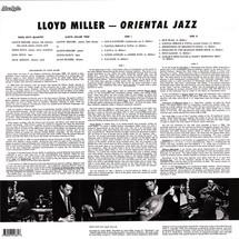 Lloyd Miller - Oriental Jazz [LP]