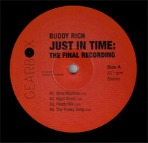 Buddy Rich - Just In Time - The Final Recording Limited Edition [3LP]