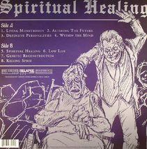 Death - Spiritual Healing (Black Vinyl)