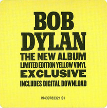 Bob Dylan - Rough and Rowdy Ways (Yellow Vinyl) [2LP]