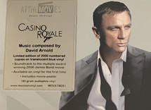David Arnold - Casino Royale (Blue Vinyl) OST [2LP]