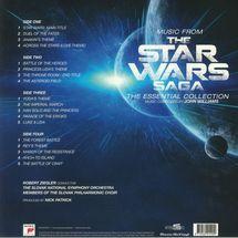 John Williams - Music From The Star Wars Saga OST (white & black marbled vinyl) [2LP]