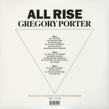 Gregory Porter - All Rise (Deluxe Limited Edition) [3LP]