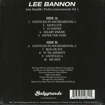 Lee Bannon - Joey Bada$$ / Pro Era (Instrumentals) [LP]