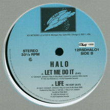 """Halo - Let Me Do It / Life (Limited Numbered 12"""") (RSD) [12""""]"""