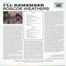 Roscoe Weathers - I