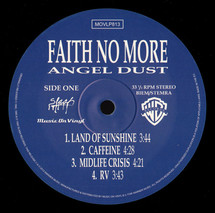 Faith No More - Angel Dust [2LP]