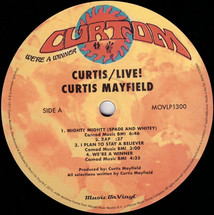 Curtis Mayfield - Curtis / Live!  [2LP]