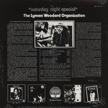 The Lyman Woodard Organisation - Saturday Night Special