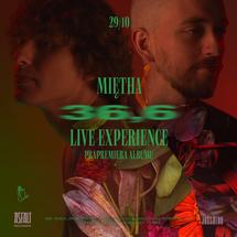 "Miętha - 36,6 LP LTD + Bilet ""Miętha 36,6 Live Experience"" + T-Shirt [Pakiet]"