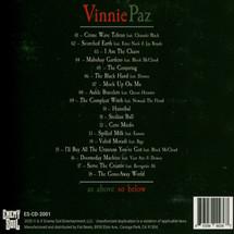 Vinnie Paz - As Above So Below [CD]