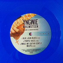 Yngwie Malmsteen - Blue Lightning (Blue Vinyl) [2LP]