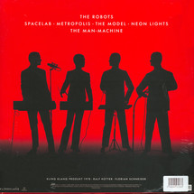 Kraftwerk - The Man-Machine (Red Vinyl) English Version [LP]